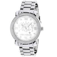 Luxurman Men's Limited Edition 1/8ct TDW Diamond Watch