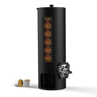 Mind Reader 'REVOLUTION' Coin operated K-Cup dispenser-Black