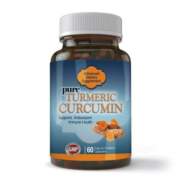 Totally Products Turmeric Curcumin Extract 95-percent Curcuminoids (60 Capsules)