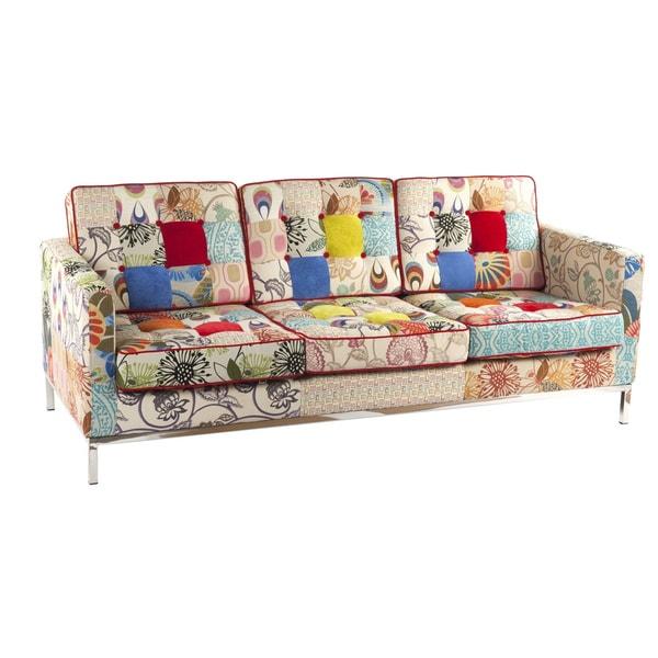 Hans Andersen Home Draper Multicolor Patchwork Sofa