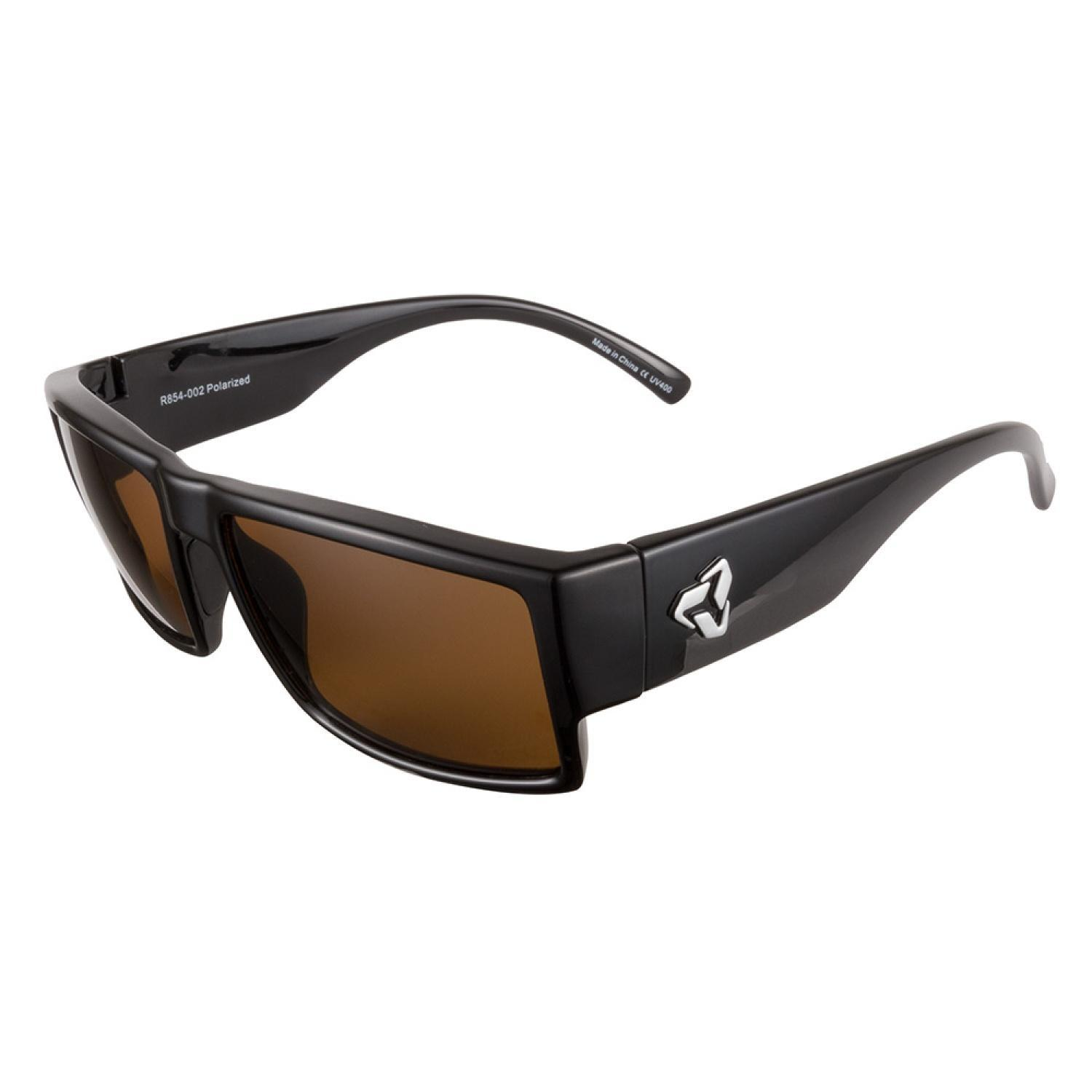 b0e99089b1f5 Shop Ryders Chops R854 002 Black Polarized Sunglasses - Free Shipping Today  - Overstock - 11708517