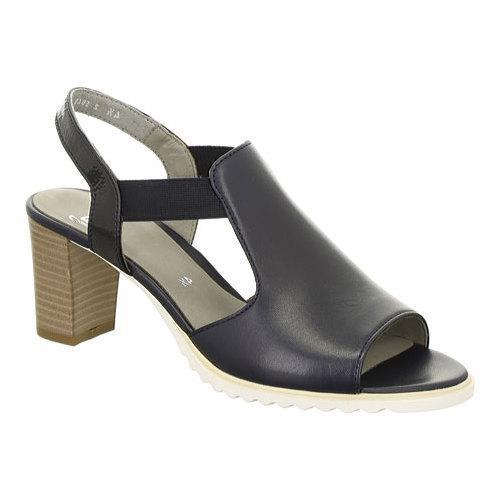 Women's ara Gillian 35649 Sandal Navy Nappa/Patent