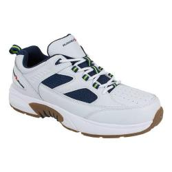 Men's Rugged Shark Marlin 3 Sneaker White/Navy Leather/Synthetic/Mesh