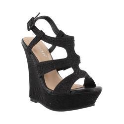 Women's Westbuitti Aegean-1-LS Wedge Sandal Black