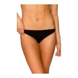 Women's B. Swim Cheeky Cakes Bikini Bottom Edgy Noir