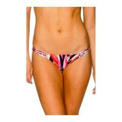 Women's B. Swim Le Strap Cinch Bikini Bottom Tropix