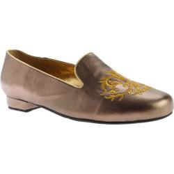 Women's Beacon Shoes Crusader Flat Bronze Leather