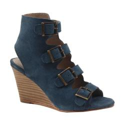 Women's Diba True In Vited Wedge Sandal Denim Suede