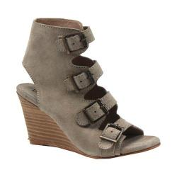 Women's Diba True In Vited Wedge Sandal Off White Suede