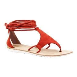 Women's Diba True This N That Ankle Strap Thong Sandal Mango Suede