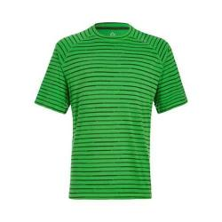 Men's tasc Performance Carrollton Performance Crew Fairway/Pine Green Bamboo Stripe