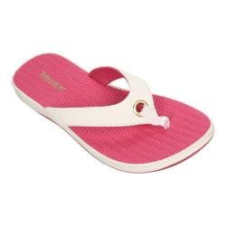 Women's Tidewater Sandals Portland Shy Pink Thong Sandal Pink/White