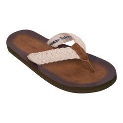 Women's Tidewater Sandals Tallulah Cream Flip Flop Cream