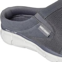 Men's Skechers Equalizer Coast to Coast Clog Charcoal