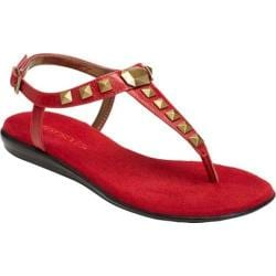 Women's Aerosoles Chlose Together Red Faux Leather