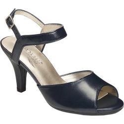 Women's Aerosoles Gridlux Sandal Navy Leather