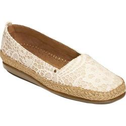 Women's Aerosoles Solitaire White Fabric