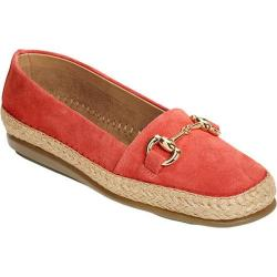 Women's Aerosoles Solution Loafer Coral Suede
