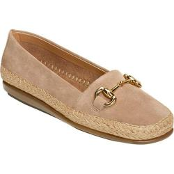 Women's Aerosoles Solution Loafer Taupe Suede