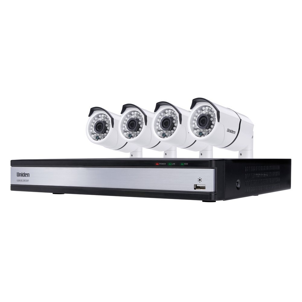 Uniden UDVR45x4 HD 720P 4-Channel DVR