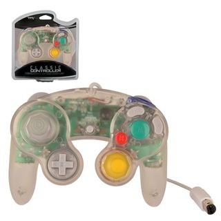 TTX Tech Clear Wired Controller For Nintendo GameCube System