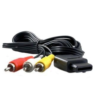 KMD AV Composite Cable For Nintendo GameCube System