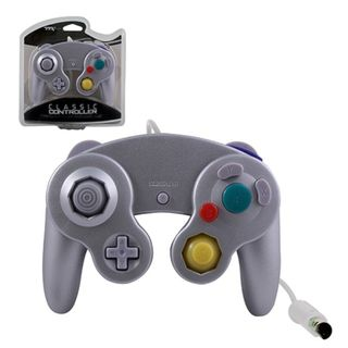TTX Tech Silver Wired Controller For Nintendo GameCube System