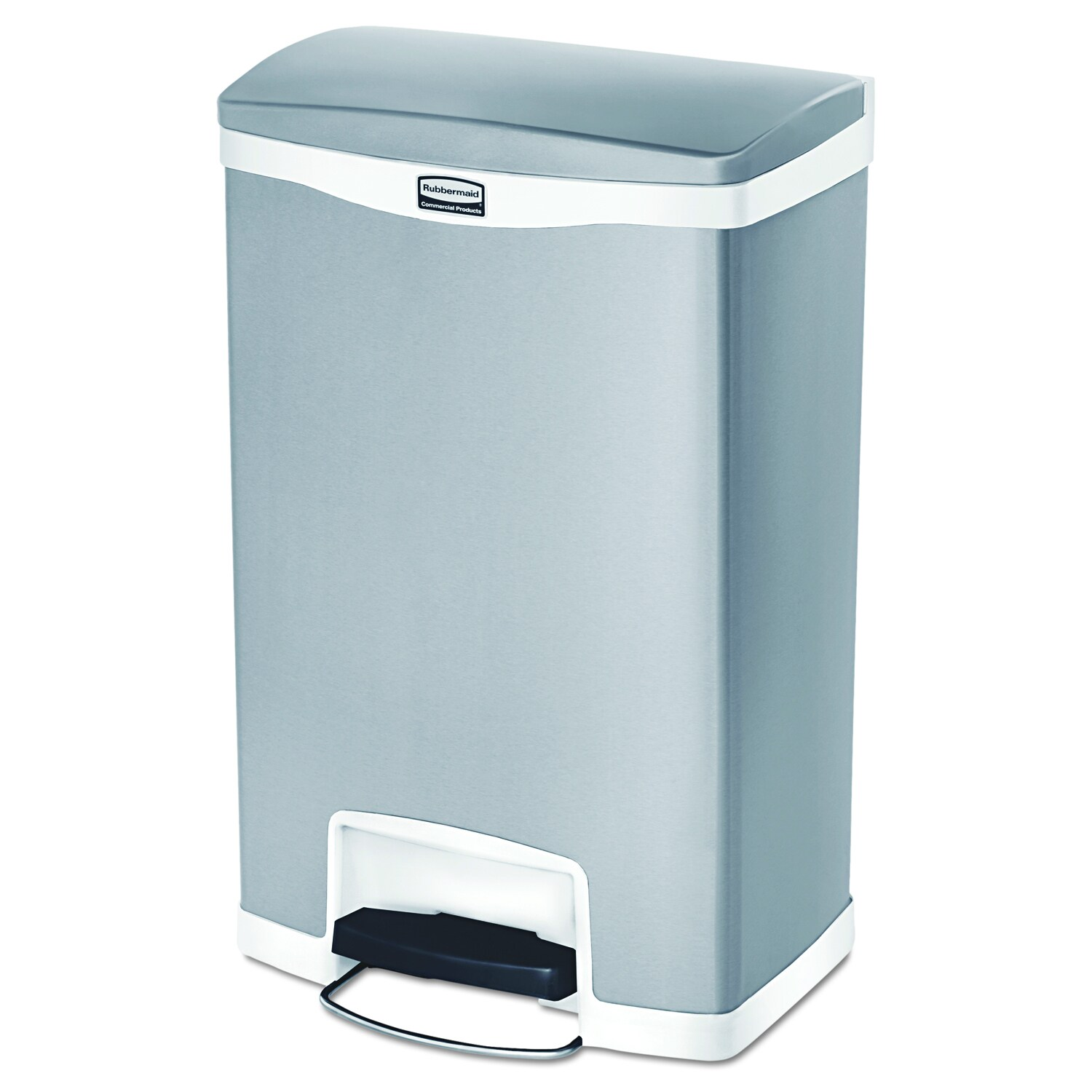 Stainless Steel Rubbermaid Trash Cans & Liners | Find Great ...
