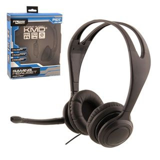 KMD Black Small Live Chat Headset With microphone For Sony PS 4
