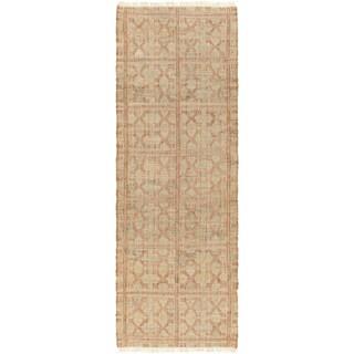 Hand-Woven Chesham Indigo Jute Area Rug