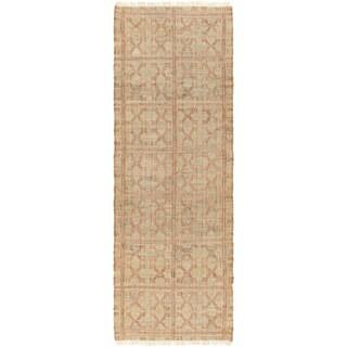 Hand-Woven Chesham Indigo Jute Rug (2'6 x 8')