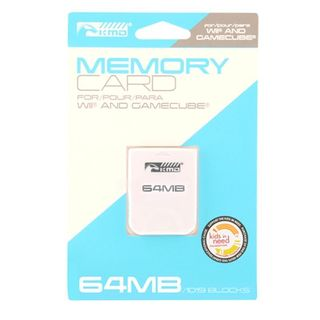 KMD 64 MB 1019 Blpcks Memory Card For Nintendo Wii And GameCube System