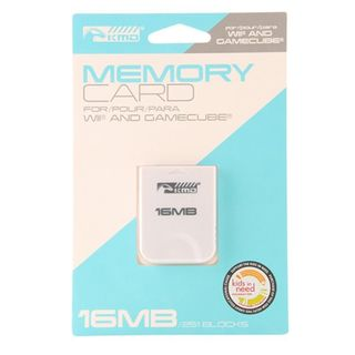KMD 16 MB 251 Bocks Memory Card For Nintendo Wii And GameCube System