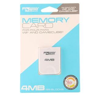 KMD 4 MB 59 Blacks Memory Card For Nintendo Wii And GameCube System