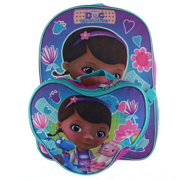 7efc7a820a4 Shop Junior Doc McStuffins Backpack with Lunchbox - Free Shipping On ...