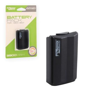 KMD Black 3900 mAh Rechargeable Battery Pack For Microsoft Xbox 360