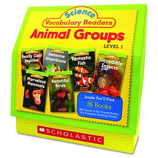 Scholastic Science Vocabulary Readers: Animal Groups (Includes 26 Books and Teaching Guide)
