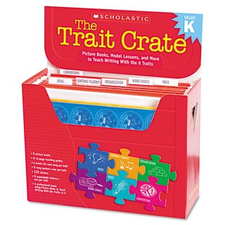 Scholastic Kindergarten Trait Crate