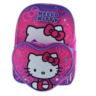 Hello Kitty Backpack with Lunchbox