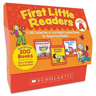 Scholastic First Little Readers Level A for Pre K-2