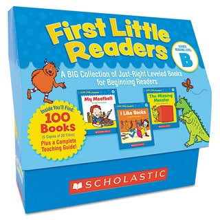Scholastic First Little Readers Level B for Pre K-2