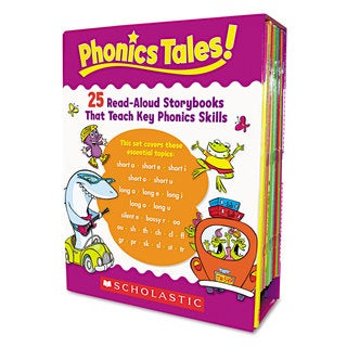 Scholastic Phonics Tales Read-Aloud Storybooks 25 Books for Grades K-2