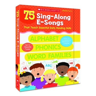 Scholastic Sing-Along E-Songs for Grades Pre K-2