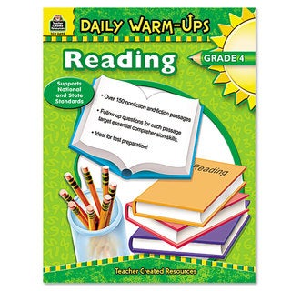 Teacher Created Resources Grade 4 Reading Daily Warm-Ups