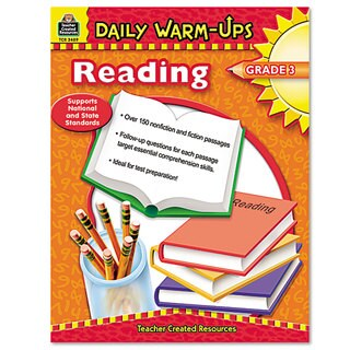 Teacher Created Resources Grade 3 Reading Daily Warm-Ups