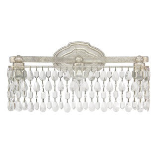 Capital Lighting Traditional 3-light Antique Silver Bath/Vanity Light