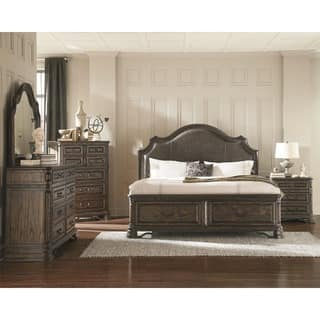 bedroom furniture with storage. Armada Royal 7 piece Bedroom Set Storage Bed Sets For Less  Overstock com
