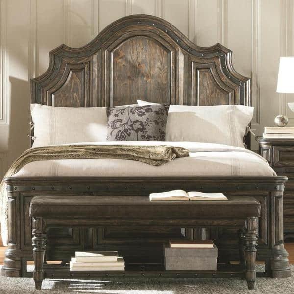 Shop Armada 7-piece Dark Brown Bedroom Furniture Set - Free ...