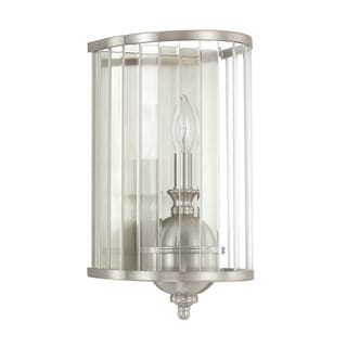 Capital Lighting Hamilton Collection 1-light Brushed Nickel Wall Sconce