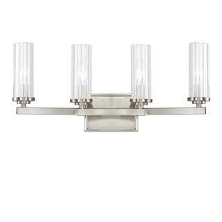 Capital Lighting Donny Osmond Emery Collection 4-light Brushed Nickel Bath/ Vanity Light